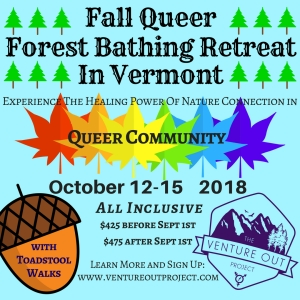 Fall Queer FB Retreat w TVOP- INSTA